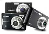 3 x aparate de fotografiat: Samsung ES10, Olympus FE46, Panasonic Lumix DMC-FS 62