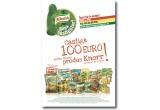 100 x 100 sau 200 de euro pentru fiecare pachet de Knorr pe care il ai la tine / saptamana