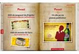 100 x magnet de frigider / saptamana, 50 x naveta de bere Ciuc Premium / saptamana, 10 x spatiu publicitar out-door