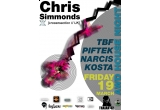 3 x invitatie de o persoana la Chris Simmonds @ Traian 42 (19 martie)