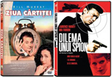 "<b>2 DVD-uri de la Prooptiki: ""Ziua Cartitei"" si ""Dilema unui spion""</b><br />"
