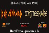 <b>3 invitatii duble  la concertul Def Leppard si Whitesnake sustinut pe 8 iulie 2008 la Romexpo</b><br />
