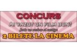 2 bilete gratuite la cinema