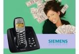 un telefon Siemens A155 cu robot