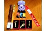 set betisoare parfumate + suport din lemn pentru betisoare parfumate + vas pentru aromoterapie esente aromoterapie + 3 brelocuri + betisoare bambus, Zeitate abundenta, porcusor cu Wu Lou pentru sanatate + set lumanari dragoste + potcoava pentru noroc si remediu pentru sanatate si protectie, 3 talismane din cristal + cutiuta pentru pastrarea cristalelor sau bijuteriilor + remediu de sanatate + betisoare bambus