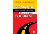"""5 x """"Romania. Atlas turistic si rutier Bucuresti. Ghidul strazilor"""""""