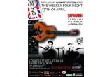 2 x invitatie dubla la concertul Tapinarii din 13 aprilie 2010, din Club Mojo Brit Room, Bucuresti