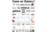 6 x invitatie la Save or Cancel, 16 aprilie, la The Ark