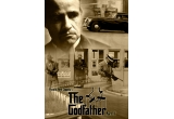 """5 x poster """"The Godfather"""""""