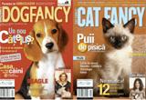 Saptamanal <b>doua abonamente</b> la cele mai citite reviste din lume despre caini si pisici impreuna cu o colectie din <b>DOG FANCY sau CAT FANCY</b>.<br />