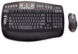 <b>Un set tastatura si mouse Microsoft Wireless Optical Desktop Elite</b>