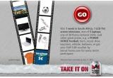 o saptamana in Africa de Sud la Cupa Mondiala, un televizor LCD, 5 x laptop, 20 x tricou Puma, alte premii Power Horse