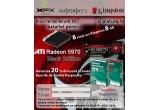 8 x Kingston USB 8GB DATA TRAVELER 100, 1 x XFX RADEON 5970 Black Edition