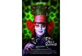 "DVD cu filmul ""Alice in Wonderland"", 4 x poster ""Alice in Wonderland"""