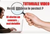 10 x post de editor pentru site-ul tutorialevideo.info, 3 x pachet de hosting, 10 x lenjerie de lux